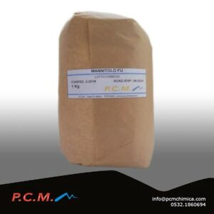 MANNITOLO-1-KG-DOLCIFICANTE-MANNITE-ZUCCHERO-PCM-3038