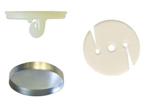 144:Osborne Covered Button Kit-Nylon Super Hook Soft Shells,Poly Washer Size:36