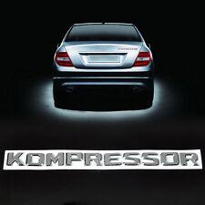 3D Letters Badge Emblem Sticker For KOMPRESSOR Mercedes Benz CLK A B C E S Class