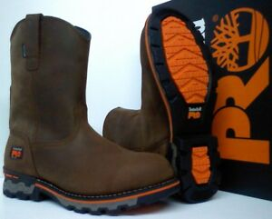 60e57aba774 Details about Timberland PRO AG Boss Soft Toe Work Boots - Waterproof -  Round Toe - TB0A1723