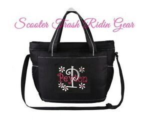 Image Is Loading Diaper Bag Personalized Baby Tote Black Monogrammed New