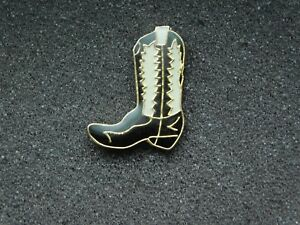 VINTAGE METAL PIN COWBOY BOOT