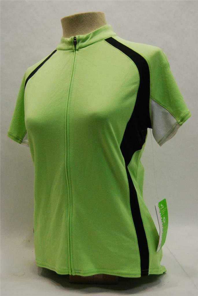 Cannondale Donna Classica Manica Corta Jersey  Medium  verde 3f120m  Lim