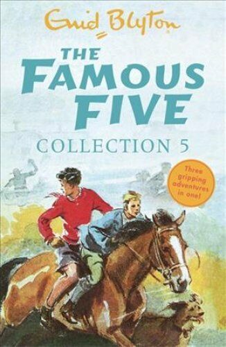 The Famous Five Collection 5 Books 13-15 by Enid Blyton 9781444940176
