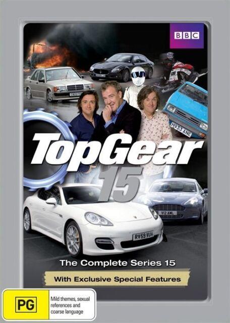 Top Gear : Series 15 dvd  u220 (metal case)