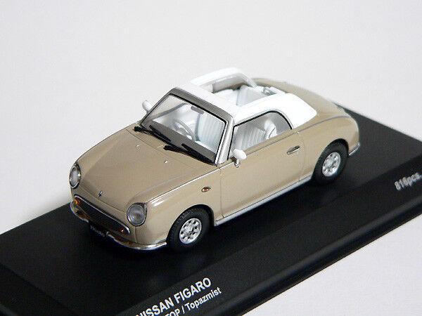 NISSAN FIGARO 1 43 1 43  diecast modèle ouvert Topaz Mist Kyosho nouveau, RARE    choix à bas prix