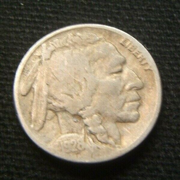1928-S 5C Buffalo Nickel