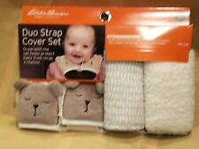 Set of 2 Eddie Bauer First Adventure Duo Strap Cover Set Car Seat Strollers
