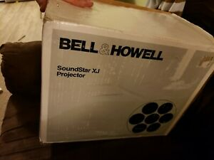 Bell-amp-Howell-SoundStar-XJ-Super-8mm-Projector-Movie-Film-Music-Audio-READ-BELOW