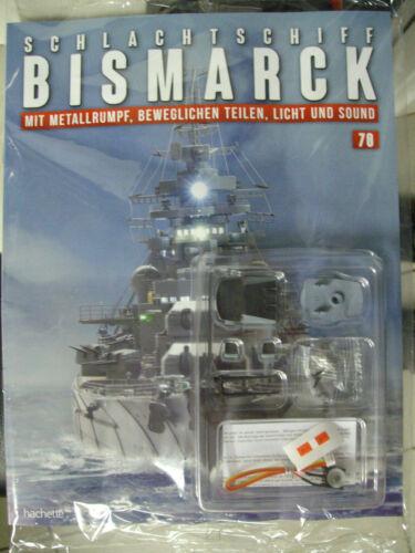 Schlachtschiff Bismarck 1:200 Hachette  Ausgabe 70 inkl Heft