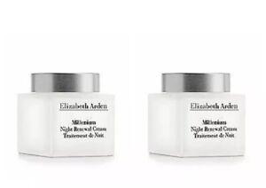 2-Pack-Elizabeth-Arden-Millenium-Night-Renewal-Cream-1-7-oz-New-Unboxed