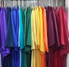 Lot of Graduation Gowns Matte Choir Robe Costume Theater Specify Color Height