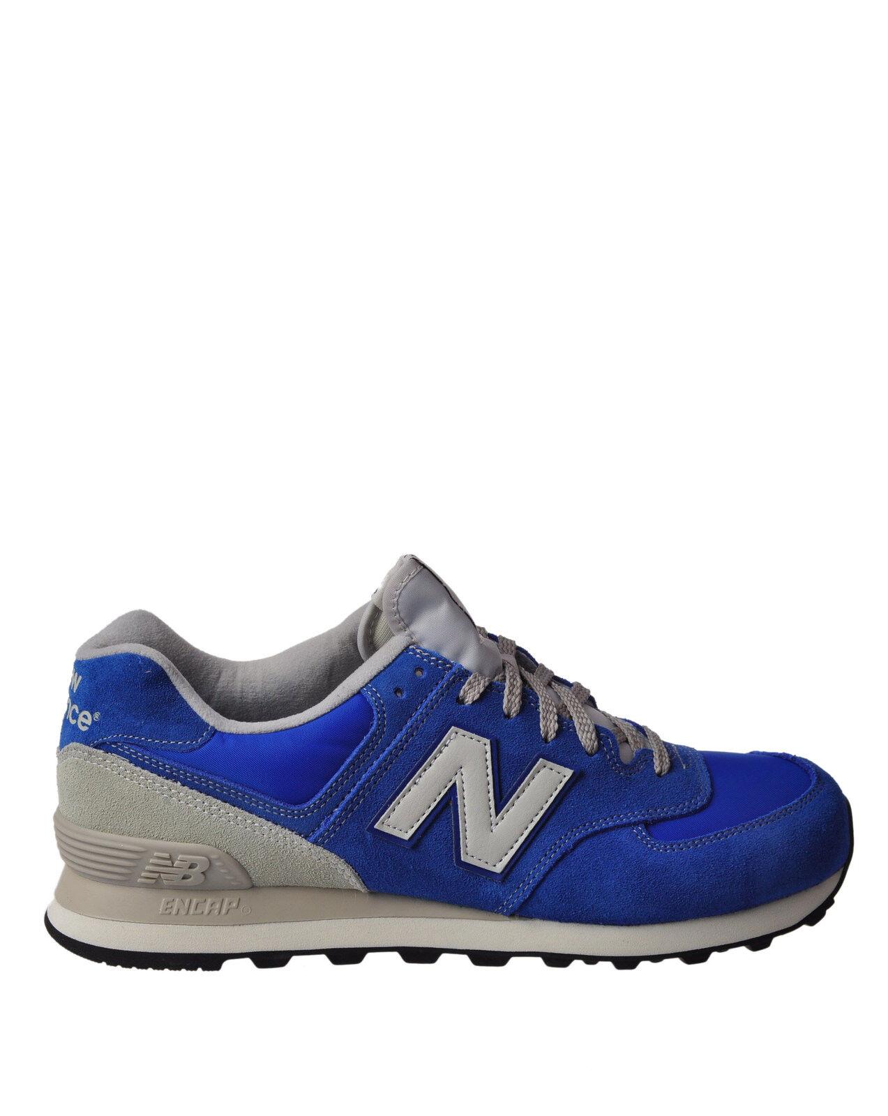 nouveau   - chaussures-paniers Faible - Man - bleu - 891418G184413