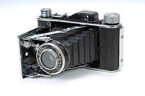 Vintage Foldex 20 Camera with Leather Case 19143