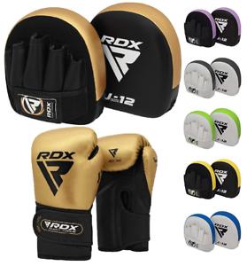 RDX Kids Boxing Pads Training Gloves Junior Focus Mitts MMA Muay Thai Kickboxing