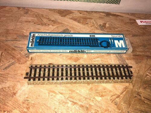 MÄRKLIN H0 Anschlussgleis  M-Gleis 5111 in OVP  MG5  A420