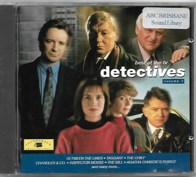 Best of the TV Detectives Vol 1 CD The Bill Taggart Van Der Valk themes & more