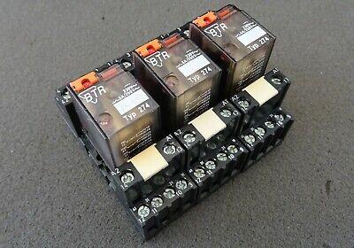 5x Metz Connect BTR Miniatur-Relais R274 Steckrelais 230V~ 4W 5A Sockel PYF-14BE