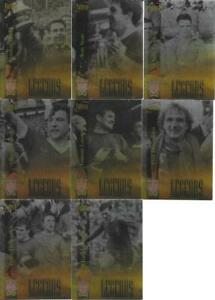 8 LIVERPOOL LEGENDS FUTERA CARDS FROM THE 1998 FUTERA SET