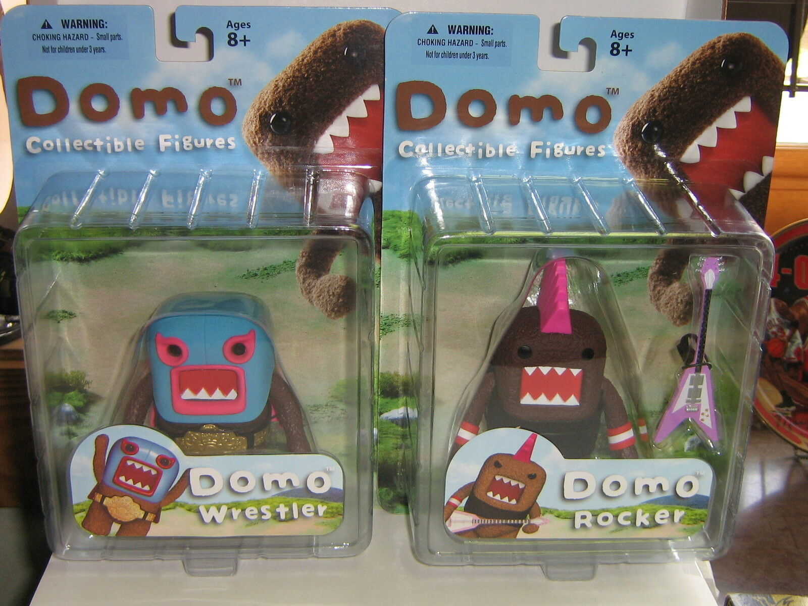 Case of 12 - Domo Anime Collectible Figures by Mezco - WRESTLER & ROCKER
