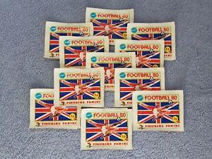 1980-paquete-sin-abrir-de-Panini-80-Pegatinas-de-futbol-Excelente-Estado