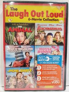The-Laugh-out-Loud-6-Movie-Collection-Joe-Dirt-Animal-DVD-Columbia-2013-NEW