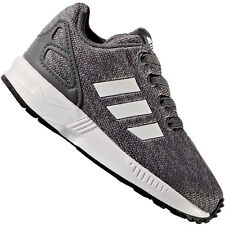 23cb7bd76 adidas Originals Infant Girls ZX Flux Metallic Snake Shoes Trainers ...