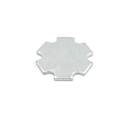 10PCS 1W 3W 5W 20MM high Power LED Universal Aluminum Plate Heat Sink Black