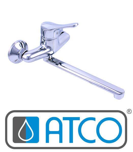 ATCO® Wandarmatur Spültischarmatur Küchenarmatur EHM Einhandmischer Küche PLUS