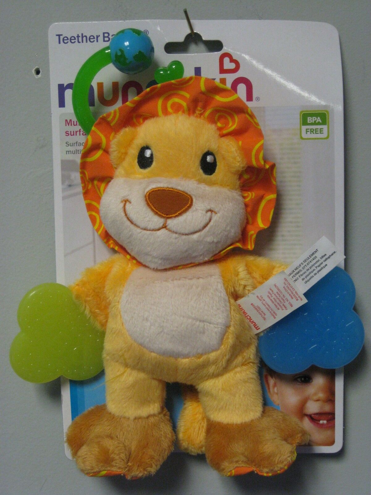 Munchkin Teether Babies Tiger Multi-textured Surfaces BABY SHOWER ...