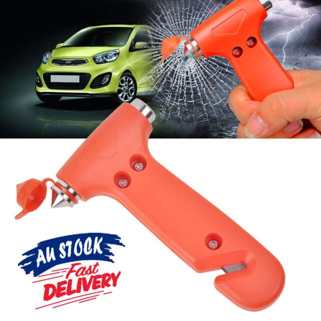 Emergency Safety Hammer Breaker Car Cutter Window Belt 2 in 1 Tool Bus Glass
