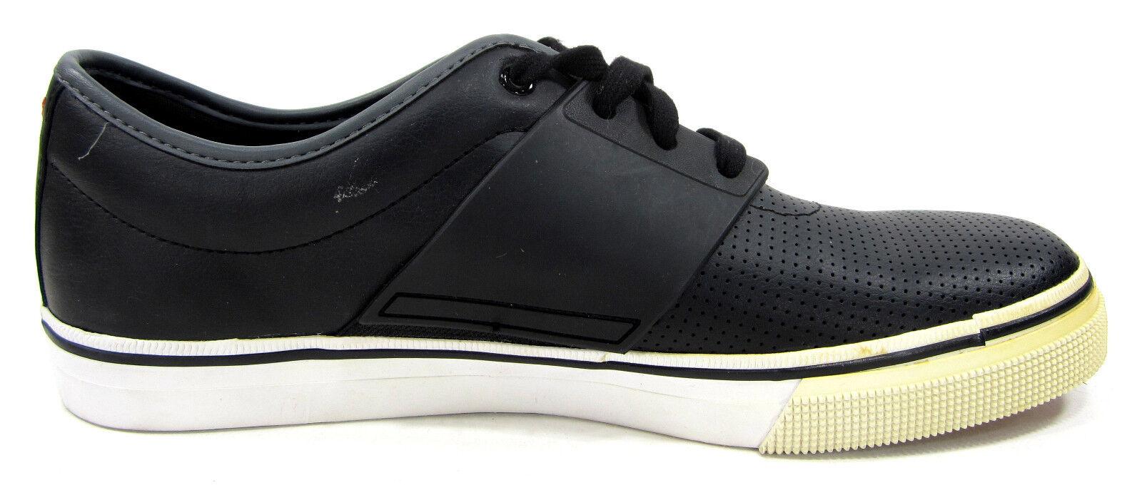 Puma - schuhe el ace größe perforierte leder schwarz turnschuhe größe ace 9,5 9ffacb