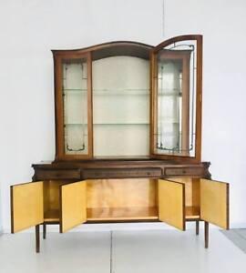 Dettagli su Mobile credenza cucina design anni \'60 made in Italy legno  vintage modernariato