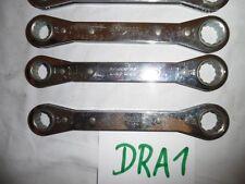 "1x Lowell Doppel Ring Schlüssel Ratsche 3/4""x5/8""  Ringschlüssel ex BW (DRA1)"