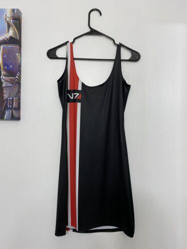 BlackMilk Clothing Mass Effecf N7 Dress Large Blac