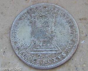 Coin-Muenze-Doppelgroschen-Friedrich-August-II-von-Sachsen-1742-Silber-silver