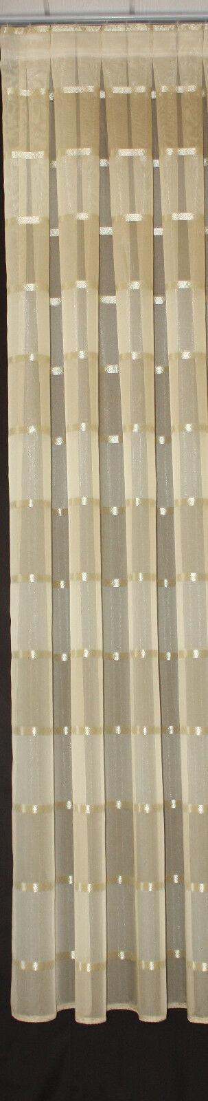 Seitenschal Dekoschal Vorhang nach Maß 48cm Breit, Höhe Höhe Höhe  0- 250 cm frei wählbar 48bdd0