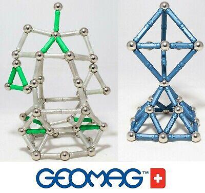 Qualificato Geomag Supermag Classic Tantissimi Pezzi Costruzioni Magnetiche Con Sfere