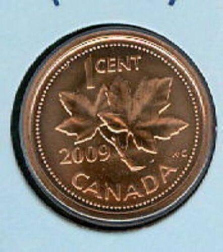 2009 RCM Logo Penny 1 One Cent /'09 Canada Canadian BU LOT of 10