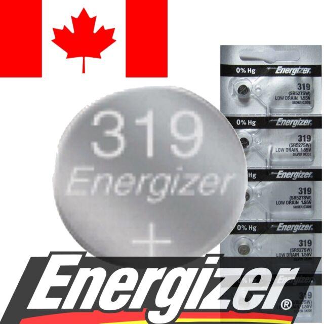 1 PC Energizer 319 Battery V319 SR527 SR527SW 615 SB-AE 280-60 Watch Batteries