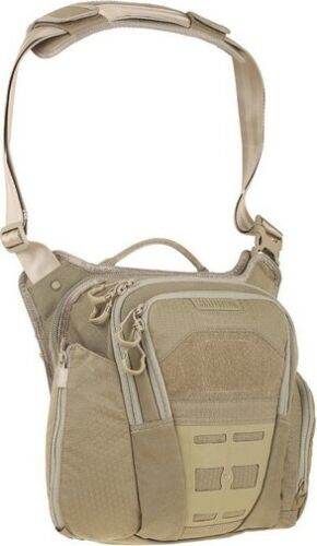 Maxpedition VLDTAN Tan AGR Veldspar Crossbody Shoulder Pack Hunting Bag