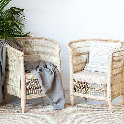 Malawi Single Seater Chair in Natural - SALE