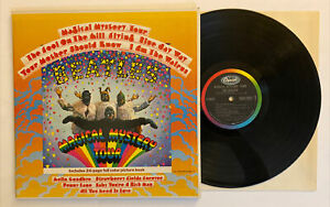 The-Beatles-Magical-Mystery-Tour-1967-US-Stereo-w-BOOK-SMAL-2835-NM