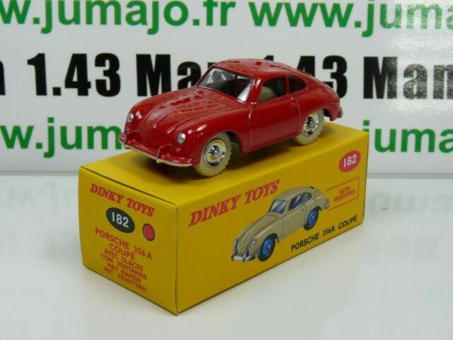NOREV  VOITURE MINIATURE 182 Porsche 356A Coupé bleue DINKY TOYS DeAgostini