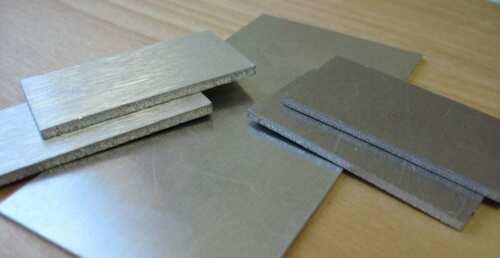 "12 Inch X 12 Inch ALUMINUM Sheet Metal Plate 3003-H14 0.063/""  THK 14GA"