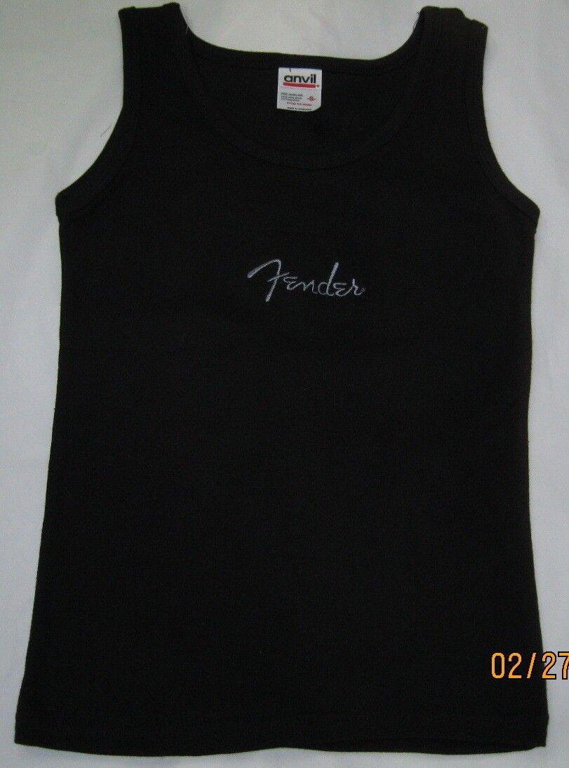fender shirt anvil ladies size small tank top small fender ladies tank top small top black 2e255e