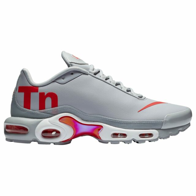 f892b32a724 Nike Air Max Plus TN Mercurial Wolf Grey Red White Men s Aq1088-001 ...