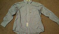 Lanesboro Men's Button Down Dress Shirt, Nwt, Sz. L 16 34/35