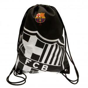 cba9ac15189 FC Barcelona - Black Crest Gear Bag 5015860308000