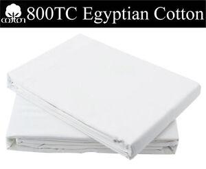 100-De-Lujo-Algodon-Egipcio-de-conjunto-de-edredon-800-Hilos-accossers